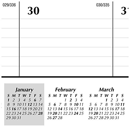 AT-A-GLANCE Desk Pad Calendar 2017, Monthly,