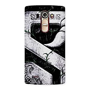 Enticing Score Print Back Case Cover for LG G4