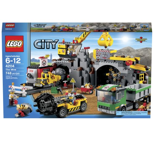 LEGO City 4204 The Mine Amazon.com