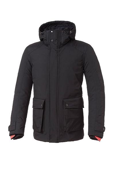 Tucano urbano 8937MF022N3 paRK-respirant, étanche et coupe-vent longueur moyenne parka veste pour homme noir taille s
