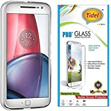 Tidel 2.5D Tempered Glass Screen Guard Protector For Motorola Moto G4 Plus (Gen 4) / 4th Generation