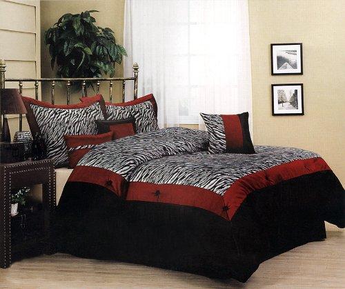 Red And White Zebra Bedroom Set Home Design Online