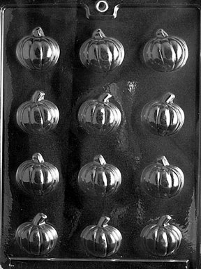 SMALL PUMPKIN Thanksgiving Candy Mold Chocolate