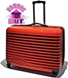 51FSHX5cPkL. SL160  Deluxe Sewing Machine Hard Shell Travel Case with Wheels   Red