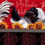 Rooster Stripe Fabric