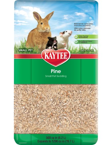 Kaytee Pine Bedding for Pet Cages, 1200 Cubic-Inch (Wood Shavings Bedding compare prices)