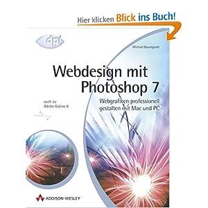 eBook Cover für  Webdesign mit Photoshop 7 Webgrafiken professionell gestalten mit Mac und PC