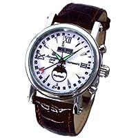 [エアロマチック1912]aeromatic1912 腕時計 ドイツ製 自動巻 カレンダー クラシックモデルA1091【並行輸入品】