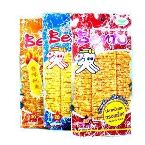 Amazon.com : Hot Mix 3 Flavor Bento Squid Thai Fish Seafood Snack From
