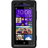 OtterBox Defender Series Case for HTC Windows Phone 8X - Retail Packaging - Black