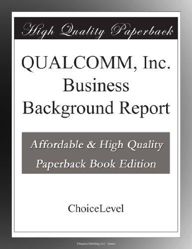 qualcomm-inc-business-background-report