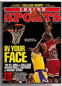 inside sports magazine october 1990 michael. Black Bedroom Furniture Sets. Home Design Ideas