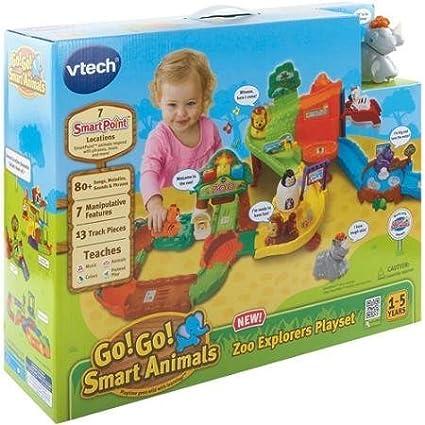 Go!-Go!-Smart-Animals-Zoo-Explorers-Playset,-Multi