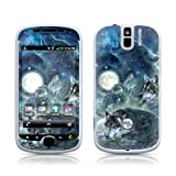 Bark At The Moon Design Protector Skin Decal Sticker for HTC myTouch 3G SLIDE Cell Phone