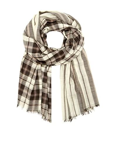Marc by Marc Jacobs Fular Woven Aimee Plaid Wool