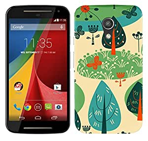 WOW Printed Designer Mobile Case Back Cover For Motorola Moto G (2nd Gen)