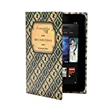 KleverCase Book Case for Amazon Kindle, Nexus, Galaxy, Nook, Hudl, Kobo and most 7 inch tablet browsers - Great Expectations
