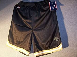 Pro Player Colorado Buffaloes Mens Shorts Pockets Size Large by Pro Player