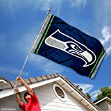 Seattle Seahawks Large NFL 3x5 Flag at Amazon.com