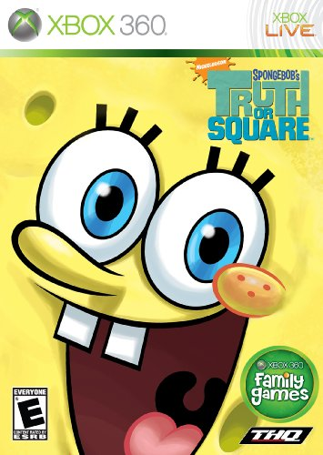 Spongebob Truth Square - Xbox 360 front-1014330