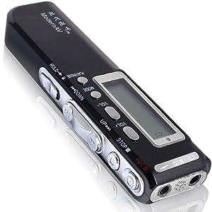 Digital Diktiergerät Aufnahmegerät Voice Recorder MP3
