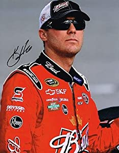 Signed Kevin Harvick Picture - 11X14 COA - Autographed NASCAR Photos by Sports Memorabilia