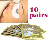 SODIAL(TM) 20 Anti-Wrinkle Eyelash Extension Eye Gel Pads