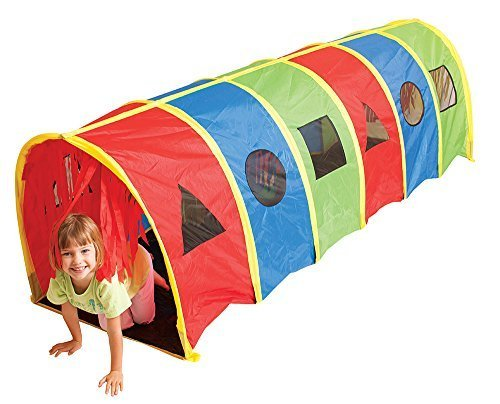 Pacific Play Tents Tickle Me 9′ Geo D Tunnel by PACIFIC PLAY TENTS online kaufen