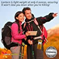 Xtreme Bright® Camping Lantern (2 Pack) - Fully Collapsible with 7 LED Lights, Weighs only 6 Oz. - 100% Lifetime Warranty