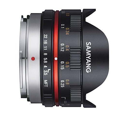 SAMYANG 単焦点魚眼レンズ 7.5mm F3.5 フィッシュアイ マイクロフォーサーズ用 ブラック