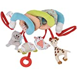 IDream Cute Multi-Function Activity Soft Plush Spiral Rattle Hanging Bell For Crib Bed Stroller For Baby Infant Newborn (Style 7)