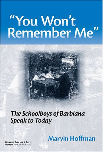 ''You Won't Remember Me'': The Schoolboys of Barbiana...