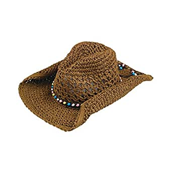 mg womens toyo cowboy hat 8223 brown clothing