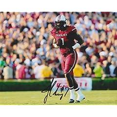 Jadeveon Clowney Autographed  Hand Signed South Carolina Gamecocks 8x10 Photo -... by Real Deal Memorabilia