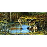 Treading on Thin Ice 1000pc Jigsaw Puzzle by John Dawson