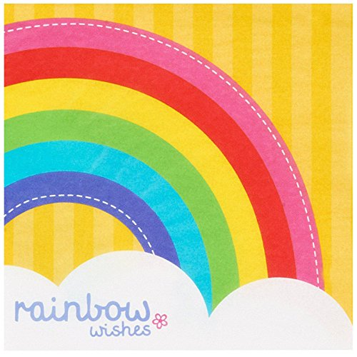 Rainbow Wishes Lunch Napkins (20)