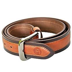 MOSPL Men's Leather Belt (OMBT3016_Brown_38)