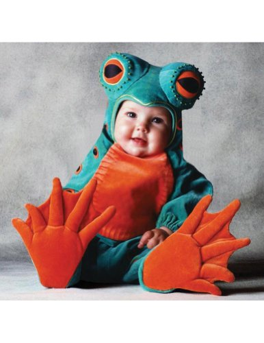 Baby-Toddler-Costume Tom Arma Frog Toddler Costume 4T-5T Halloween Costume