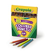 Crayola 64 Ct Short Colored Pencils K…