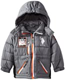 U.S. Polo Association Boys 2-7 Hooded Puffer Jacket With Dewspo Shell