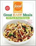 Food Network Magazine Great Easy Meal...