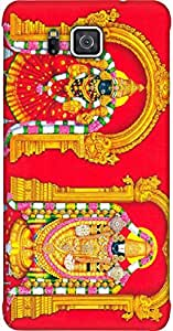 Timpax Light Weight Hard Back Case Cover Printed Design : Lord Venkateswara.Precisely Design For : Samsung Galaxy ALPHA