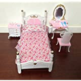 My Fancy Life Barbie Size Dollhouse Furniture- Bed Room & Beauty Play Set at Sears.com