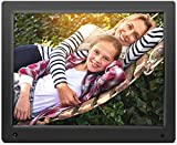 Nixplay Original 15 inch WiFi Cloud Digital Photo Frame. iPhone & Android App - Email - Facebook - dropbox - Instagram - Picasa (W15A)