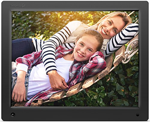 Nixplay Original 15 inch WiFi Cloud Digital Photo Frame. iPhone & Android App, Email, Facebook, dropbox, Instagram, Picasa (W15A) (Wi Fi Picture Frame compare prices)