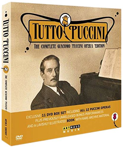 Tutto Puccini - The Complete Puccini Opera Edition [12 DVDs]