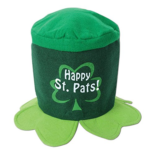 Happy St Pat's Hat Party Accessory (1 count) (1/Pkg)