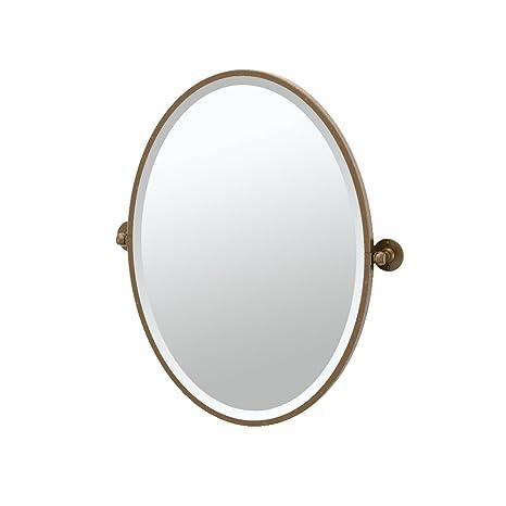 Gatco 4439F Cafe Framed Oval Mirror