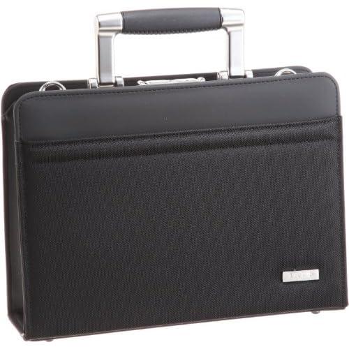 [アイエスプラス] is・+ IS+ アルミ手ハンドル30cmダレスバッグ 日本製 230-3101 1 (ブラック)