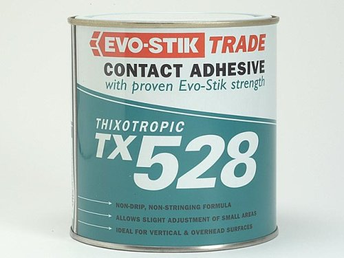 Evo Stik Tx528 Thixotropic Adhesive - 1 Litre 657502